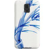 """Wind""  blue sumi-e ink wash painting Samsung Galaxy Case/Skin"