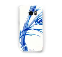 """Wind""  blue sumi-e ink wash painting Samsung Galaxy Case/Skin"