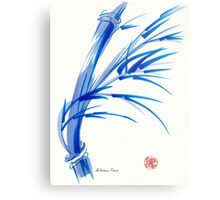 """""""Wind""""  blue sumi-e ink wash painting Metal Print"""