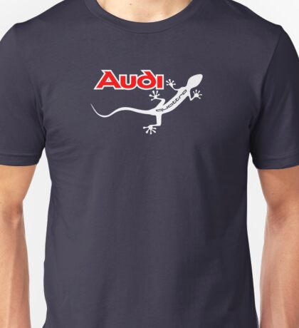 Audi Quattro Gecko Design Unisex T-Shirt
