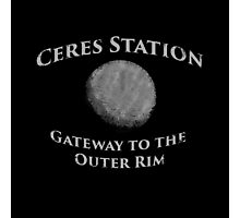 Ceres Station - Gateway to the Outer Rim Photographic Print