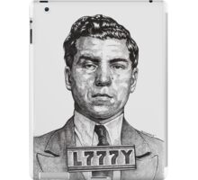 They Call Me Lucky....Lucky Luciano iPad Case/Skin
