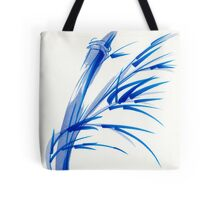 """Wind""  blue sumi-e ink wash painting Tote Bag"