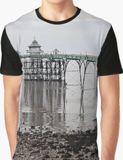 Clevedon Pier Graphic T-Shirt