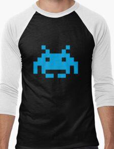 Space Invaders Pixel Men's Baseball ¾ T-Shirt