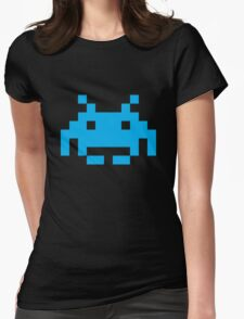 Space Invaders Pixel Womens Fitted T-Shirt