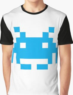 Space Invaders Pixel Graphic T-Shirt