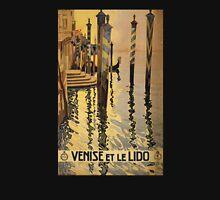 'Venise Et Le Lido' Vintage Travel Poster Unisex T-Shirt