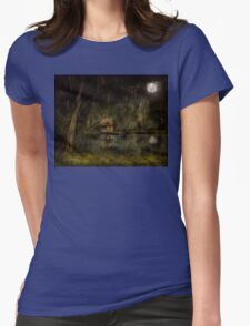 Cabin - De Land, FL - Restless night 1904 Womens Fitted T-Shirt