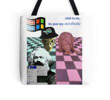 vaporwave vomit Tote Bag