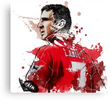 "Eric ""Le King"" Cantona Painting Canvas Print"