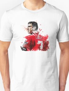 "Eric ""Le King"" Cantona Painting T-Shirt"