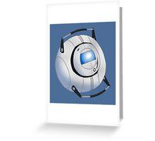 Wheatley - Intelligence Dampening Sphere Greeting Card