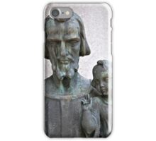 The Father and The Son iPhone Case/Skin