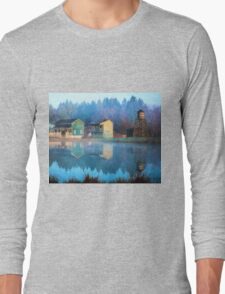 Reflections Of Hope - Hope Valley Art Long Sleeve T-Shirt