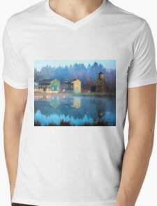 Reflections Of Hope - Hope Valley Art Mens V-Neck T-Shirt