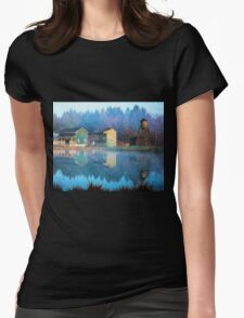 Reflections Of Hope - Hope Valley Art Womens Fitted T-Shirt