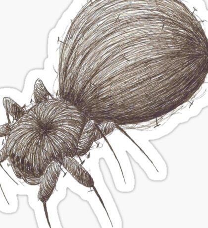 Pin Spider Sticker