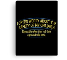 safety Canvas Print