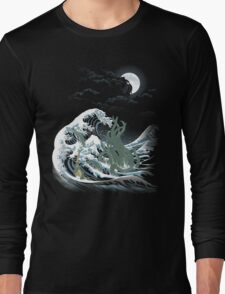The Wave Off  R'lyeh  Long Sleeve T-Shirt