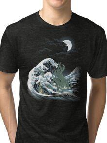 The Wave Off  R'lyeh  Tri-blend T-Shirt