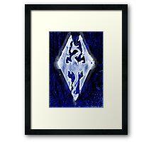 Dragonborn of Winter Legacy  Framed Print