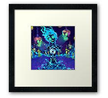 Casket of Spooks Framed Print
