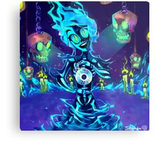 Casket of Spooks Metal Print