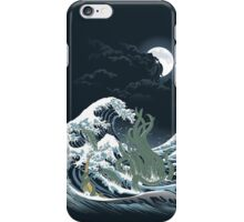 The Wave Off  R'lyeh  iPhone Case/Skin