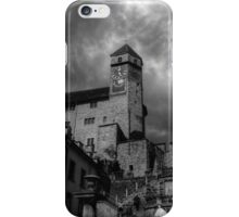 Storm Clouds Over Rapperswil Castle Switzerland iPhone Case/Skin