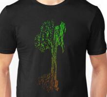 Guitar Tree Fusion (Green/Brown) Unisex T-Shirt