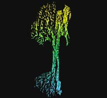 Guitar Tree Fusion (Yellow/Cyan) Unisex T-Shirt