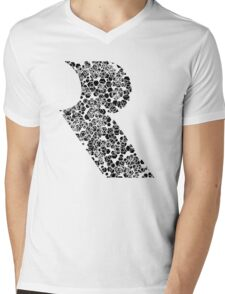 Honeycomb Rareware Mens V-Neck T-Shirt
