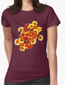 Gazanias in Red and Yellow Transparent Background T-Shirt
