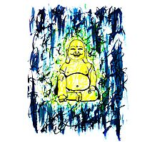 Ink Buddha Photographic Print