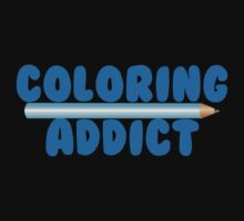 coloring addict Kids Tee