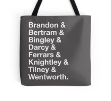 Men of Jane Austen Tote Bag