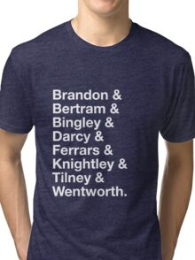 Men of Jane Austen Tri-blend T-Shirt