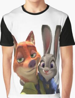Zootopia Selfie Graphic T-Shirt