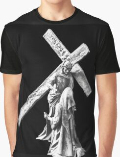 His Cross To Bear Graphic T-Shirt