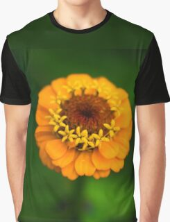 Orange and Green - Beautiful Together Graphic T-Shirt