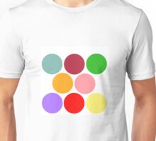 Primary, Secondary on White Unisex T-Shirt