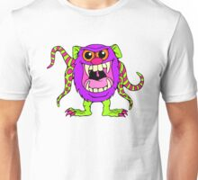Cute Party Animal Monster Unisex T-Shirt