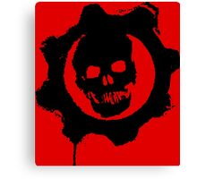 Gears of War Canvas Print