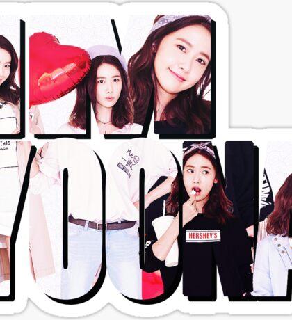 Im Yoona Sticker