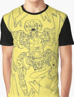 Attack of the Mecha-Zombies! Graphic T-Shirt