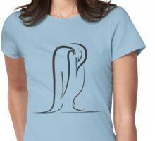 Tundra Penguin Womens Fitted T-Shirt