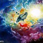 Majestic Whale by dreamyriona