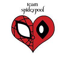 Team Spideypool Photographic Print