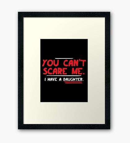 scare Framed Print